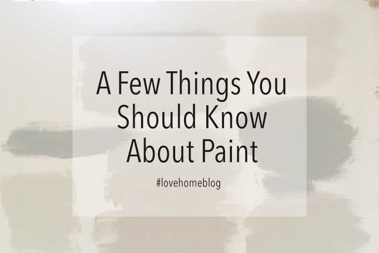 A Few Things You Should Know About Paint Jo Chrobak Architectural Interior Design Studio