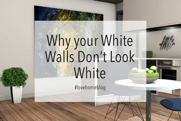 Why Your White Walls Furniture Don T Look White At Home
